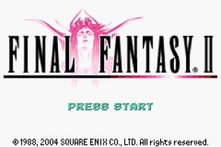 Final Fantasy 1 and 2 - Dawn of Souls GBA 077