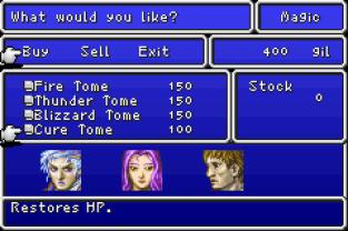 Final Fantasy 1 and 2 - Dawn of Souls GBA 086