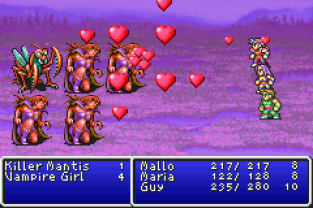 Final Fantasy 1 and 2 - Dawn of Souls GBA 100