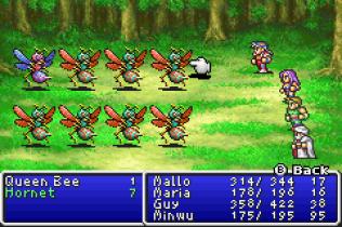 Final Fantasy 1 and 2 - Dawn of Souls GBA 110