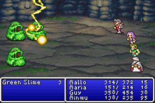 Final Fantasy 1 and 2 - Dawn of Souls GBA 120