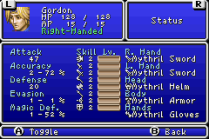 Final Fantasy 1 and 2 - Dawn of Souls GBA 150