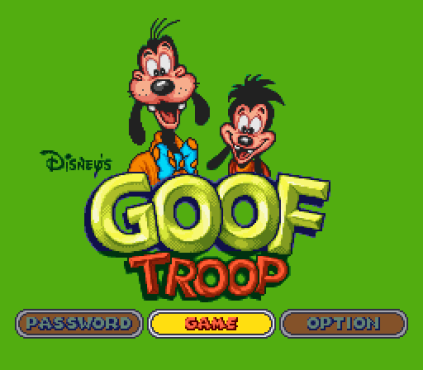 Goof Troop SNES 01
