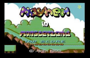 Mayhem In Monsterland C64 01