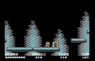 Mayhem In Monsterland C64 09