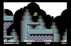 Mayhem In Monsterland C64 22