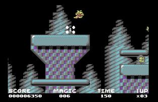 Mayhem In Monsterland C64 23
