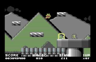 Mayhem In Monsterland C64 64