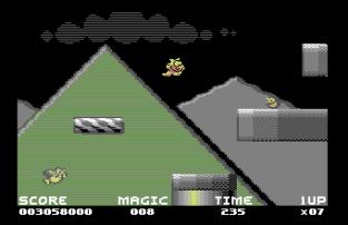 Mayhem In Monsterland C64 67
