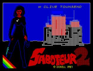 Saboteur 2 ZX Spectrum 01