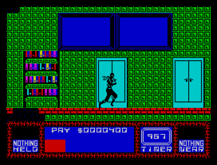 Saboteur 2 ZX Spectrum 12