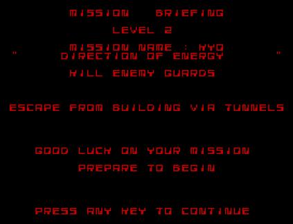 Saboteur 2 ZX Spectrum 31