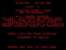 Saboteur 2 ZX Spectrum 43