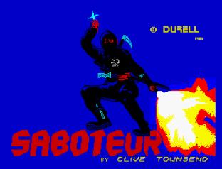 Saboteur ZX Spectrum 01