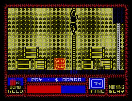 Saboteur ZX Spectrum 09