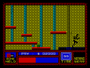 Saboteur ZX Spectrum 12