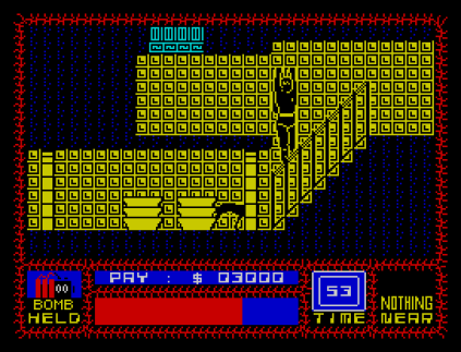 Saboteur ZX Spectrum 20