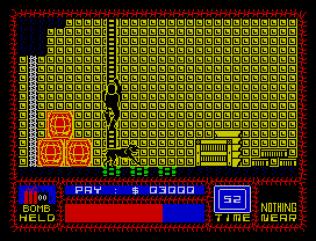 Saboteur ZX Spectrum 21