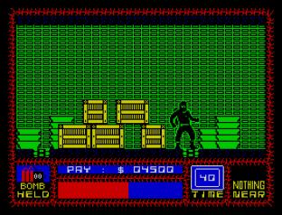 Saboteur ZX Spectrum 23