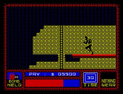 Saboteur ZX Spectrum 31