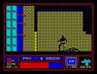 Saboteur ZX Spectrum 32