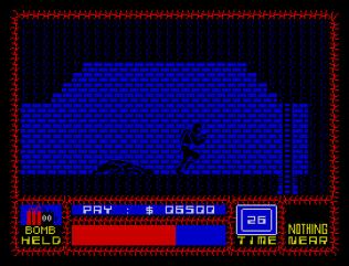 Saboteur ZX Spectrum 33