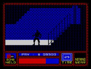 Saboteur ZX Spectrum 34