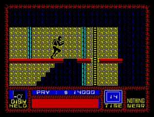 Saboteur ZX Spectrum 43