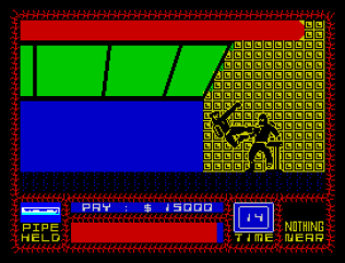 Saboteur ZX Spectrum 48