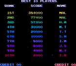 Salamander Arcade 87