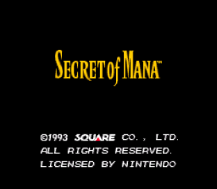 Secret of Mana SNES 001