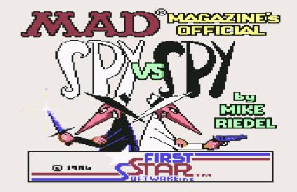 Spy vs Spy C64 01