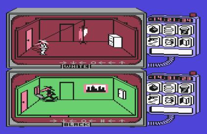 Spy vs Spy C64 09