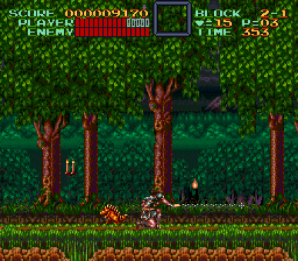 Super Castlevania 4 SNES 42