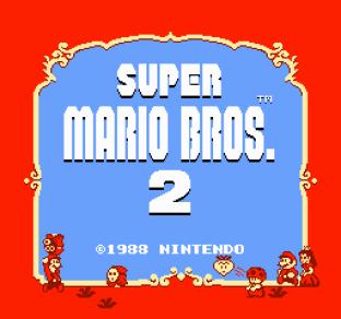 Super Mario Bros 2 NES 01