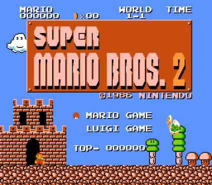 Super Mario Bros 2 Nintendo FDS 01