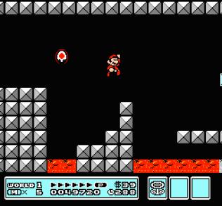 Super Mario Bros 3 NES 21