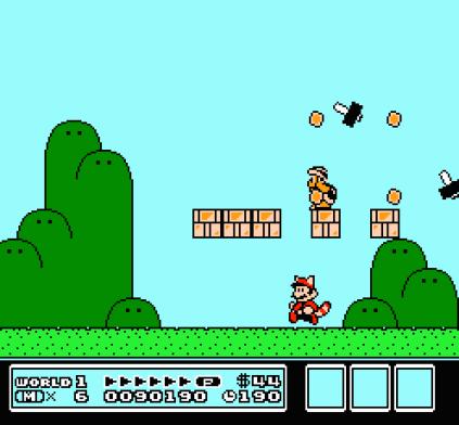 Super Mario Bros 3 NES 45