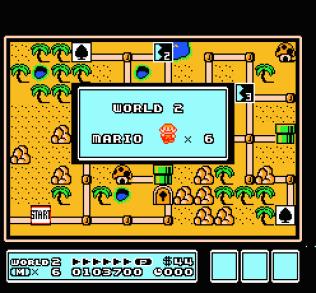 Super Mario Bros 3 NES 55