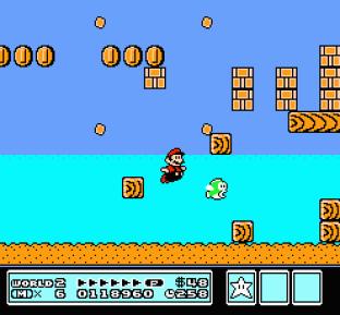 Super Mario Bros 3 NES 64