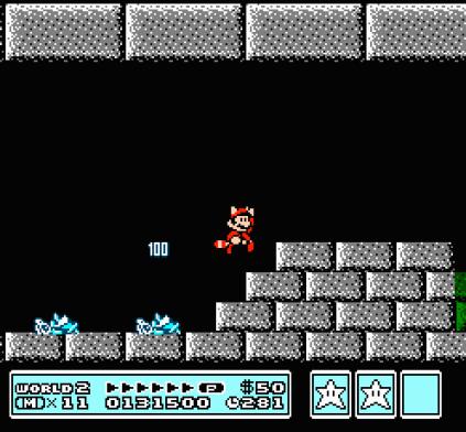 Super Mario Bros 3 NES 67