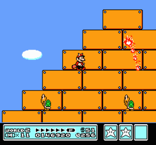Super Mario Bros 3 NES 77