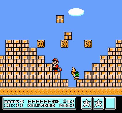 Super Mario Bros 3 NES 78