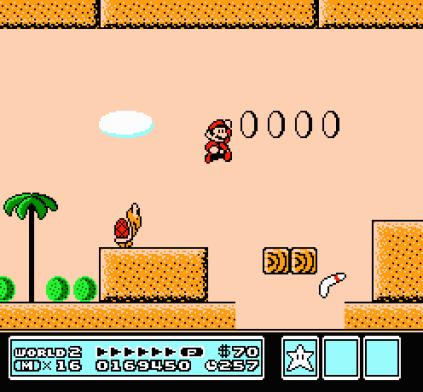 Super Mario Bros 3 NES 86