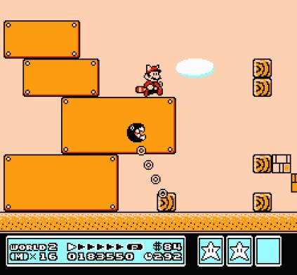 Super Mario Bros 3 NES 89