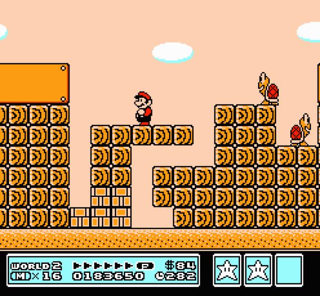 Super Mario Bros 3 NES 92
