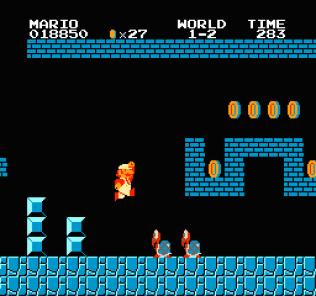 Super Mario Bros NES 10