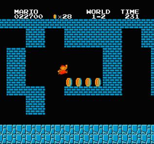 Super Mario Bros NES 11
