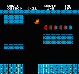 Super Mario Bros NES 12