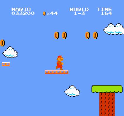 Super Mario Bros NES 20